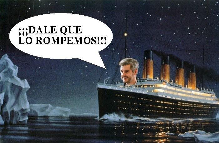 Argentina se cae a pedazos pero