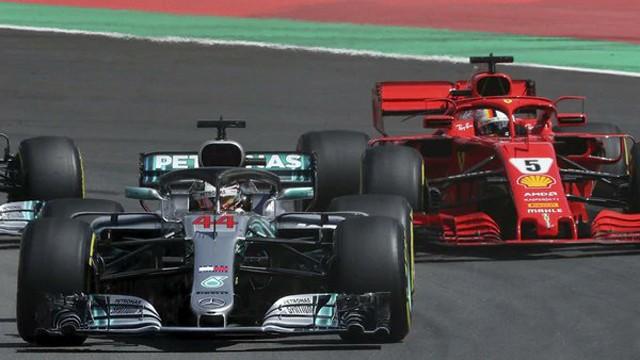 Hamilton no tuvo rivales y ganó la carrera de la Fórmula 1 en España