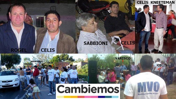 Las fotos del jefe narco con varios dirigentes de Cambiemos