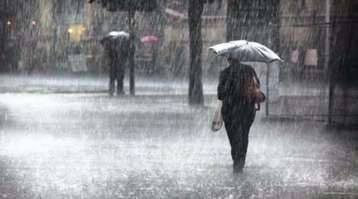 Alertan nuevamente por abundantes lluvias y fuertes tormentas