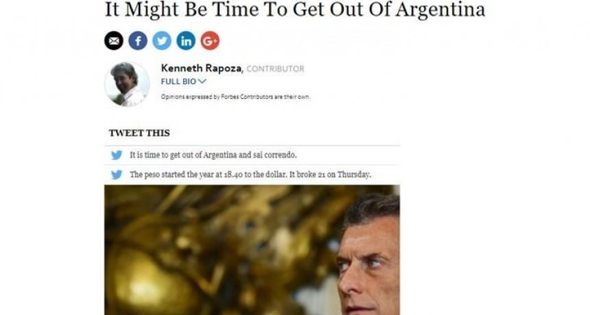 Forbes advierte: