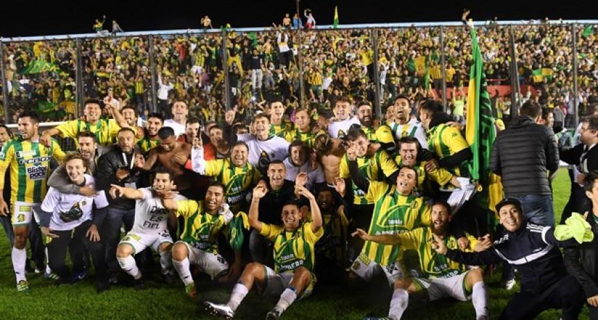 Aldosivi ascendió a Primera: festejó ante Almagro y se consagró campeón del Nacional B