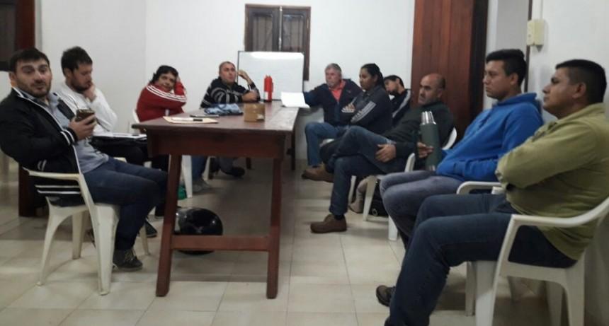 Reunión semanal de la Liga Federalense de Fútbol