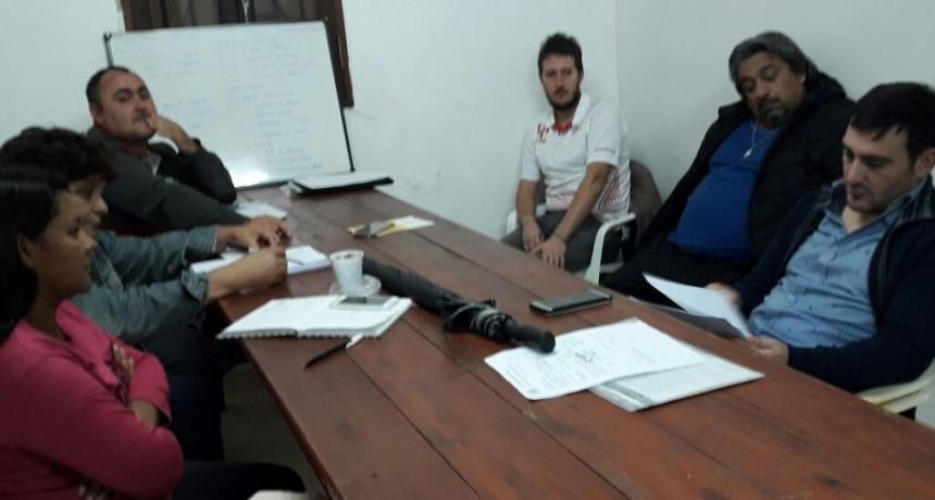 Reunión semanal de la Liga Federalense