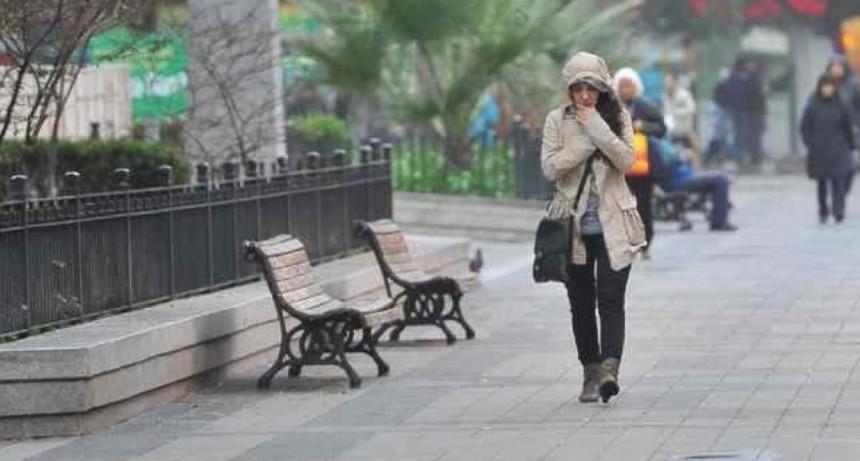Pronostican notorio descenso de temperatura en el transcurso de esta semana