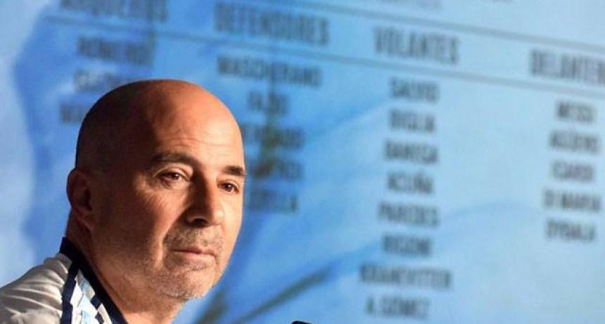 Selección Argentina: Sampaoli cambió el día de la entrega del listado final