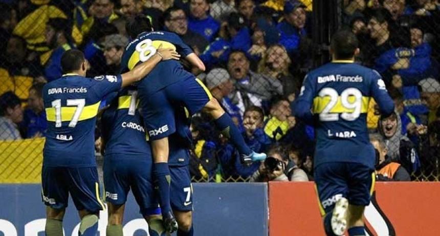 Boca goleó a Alianza Lima en la Bombonera y se clasificó a octavos de final de la Copa Libertadores
