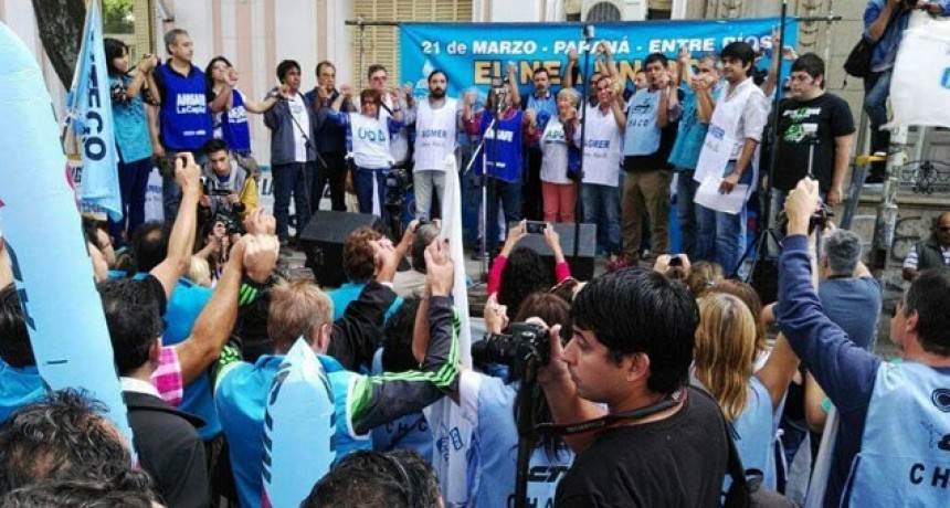 Agmer se sumó a la segunda marcha federal contra Macri