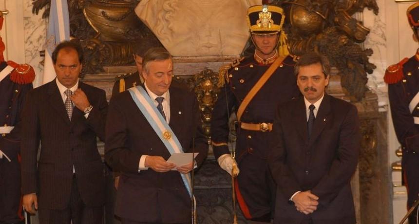 Recuerdo: a 15 años de la asunción de Néstor Kirchner como Presidente