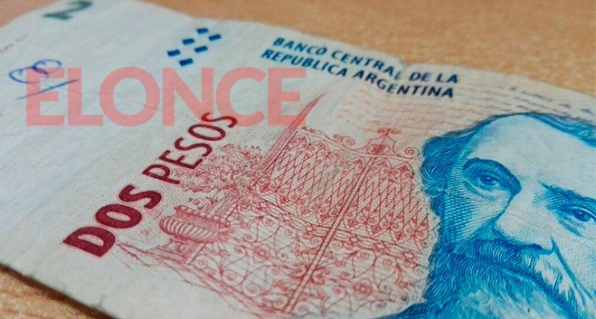 Esta semana culmina el plazo para canjear los billetes de dos pesos