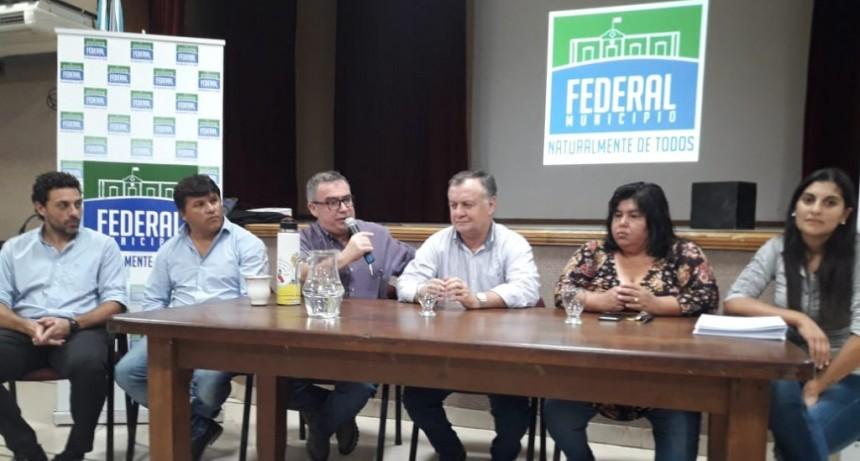 En Federal reunión de trabajo de la Secretaria de Deportes de Entre Ríos