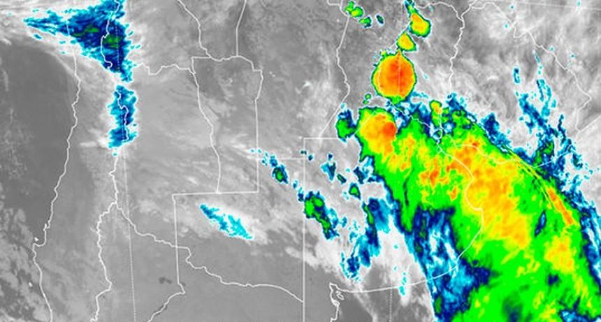 Hay alerta por tormentas fuertes en Entre Ríos y otras provincias
