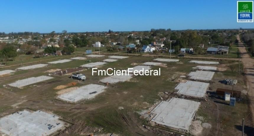El Municipio detallo el des-financiamiento de Nación para con las 100 viviendas.