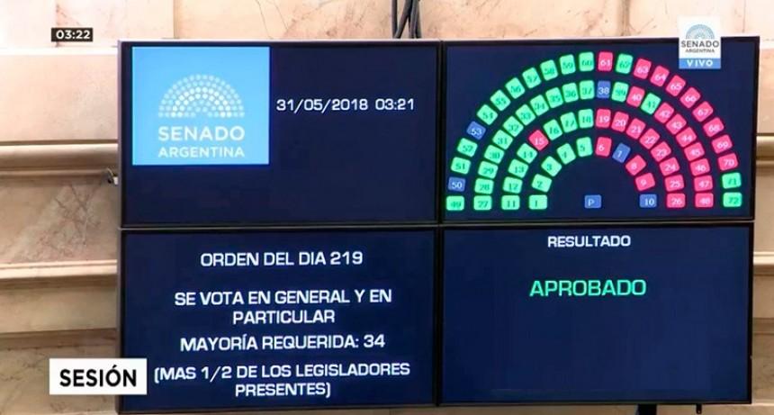 Sancionaron la ley que frena las subas de tarifas: Se espera el veto de Macri