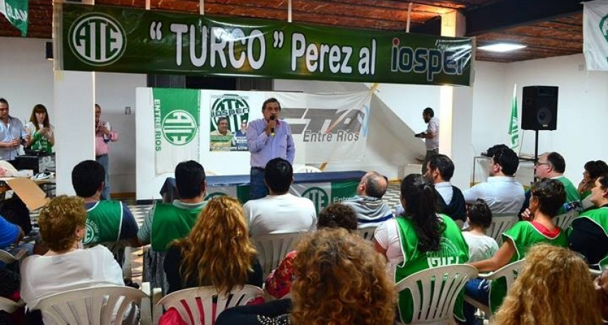 La Lista Verde y Blanca de ATE presentó sus candidatos al IOSPER