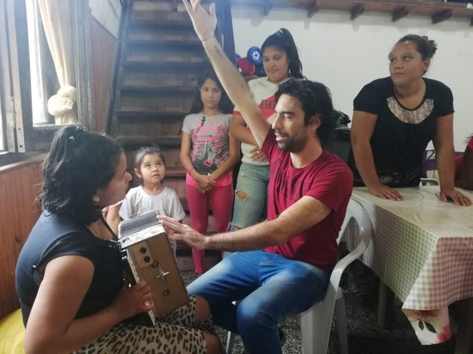 Taller de Arte Experimental en la Residencia del Copnaf Federal