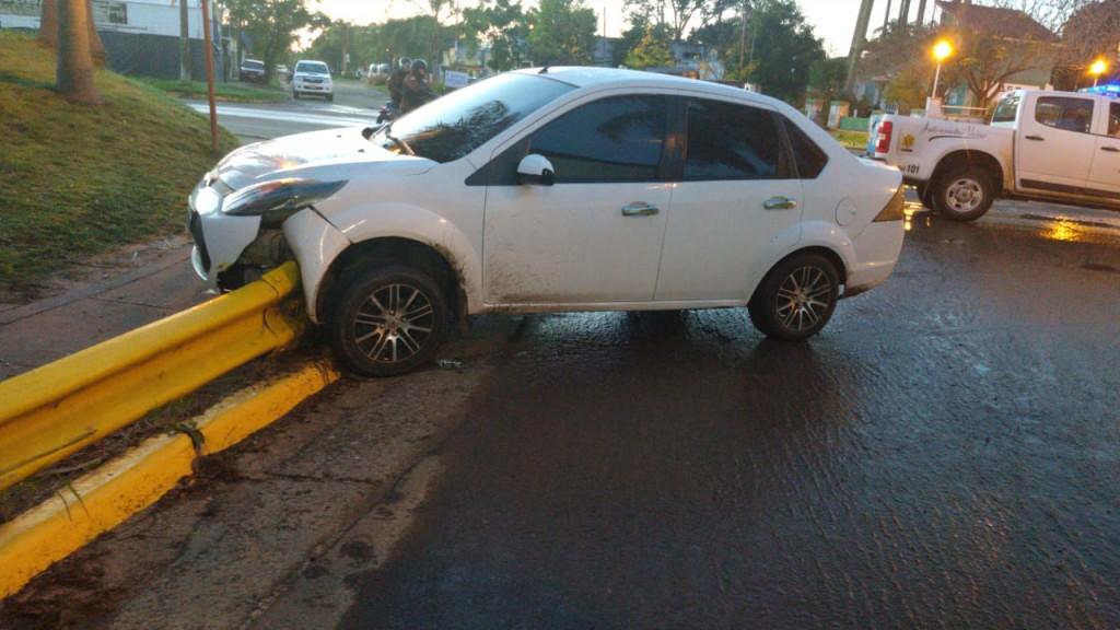 Accidente de transito por maniobras peligrosas
