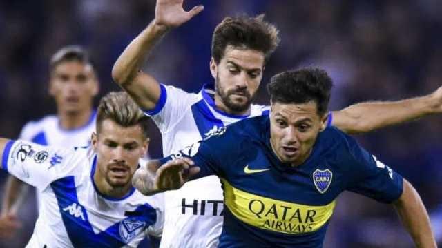 El Vélez del entrerriano Heinze igualó ante Boca por la Copa de la Superliga