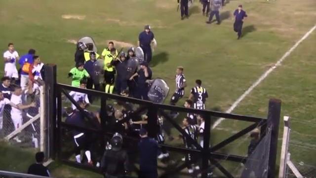 Sporting Victoria de San Luis fue desafiliado por los incidentes ante Peñarol