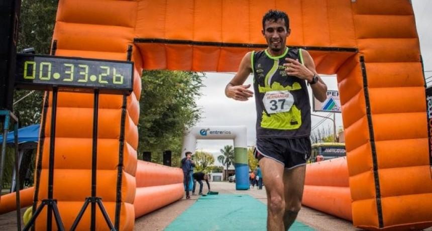 """El federalense Juan Ramírez gano  la Maratón """"131º Aniversario de Hernández"""""""