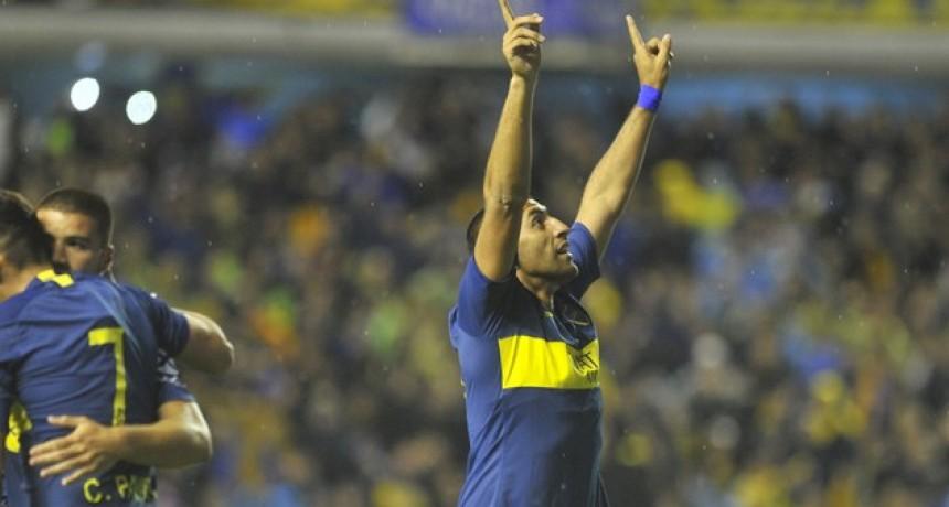 Boca superó a Godoy Cruz en La Bombonera y avanza en la Copa de la Superliga