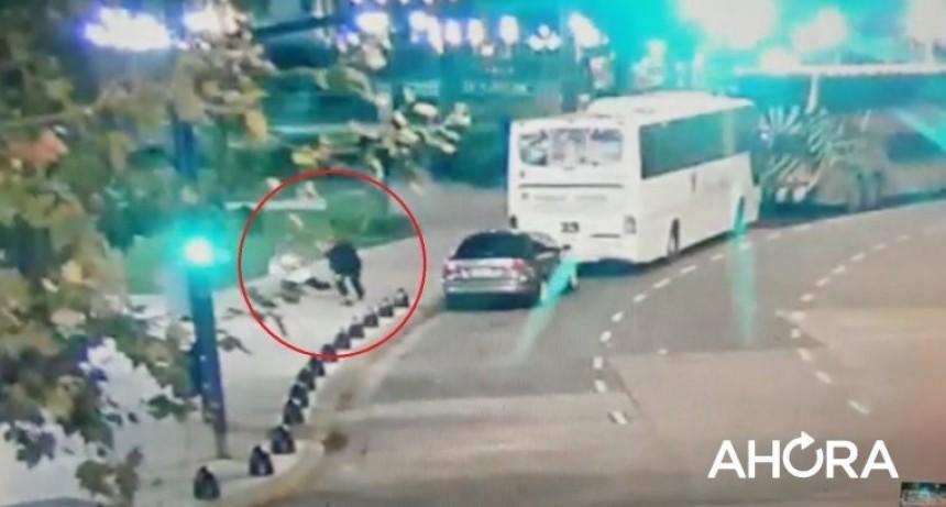Fuerte video: así fue el ataque al diputado y su asesor