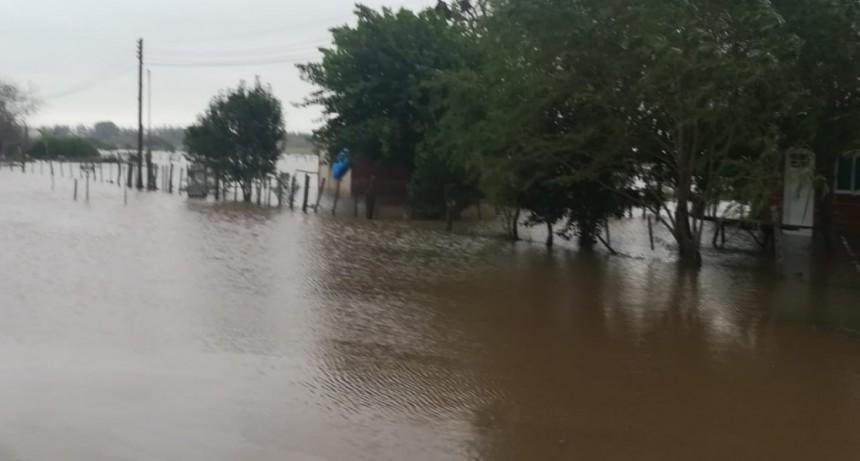 Informe y situación actual por las intensas precipitaciones en Federal