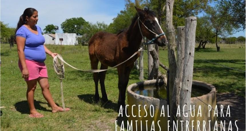 Avanza el Programa para el acceso al agua a familias federalenses
