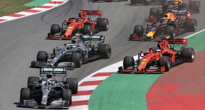 Fórmula 1: tras una gran largada, Hamilton y Mercedes festejaron en España