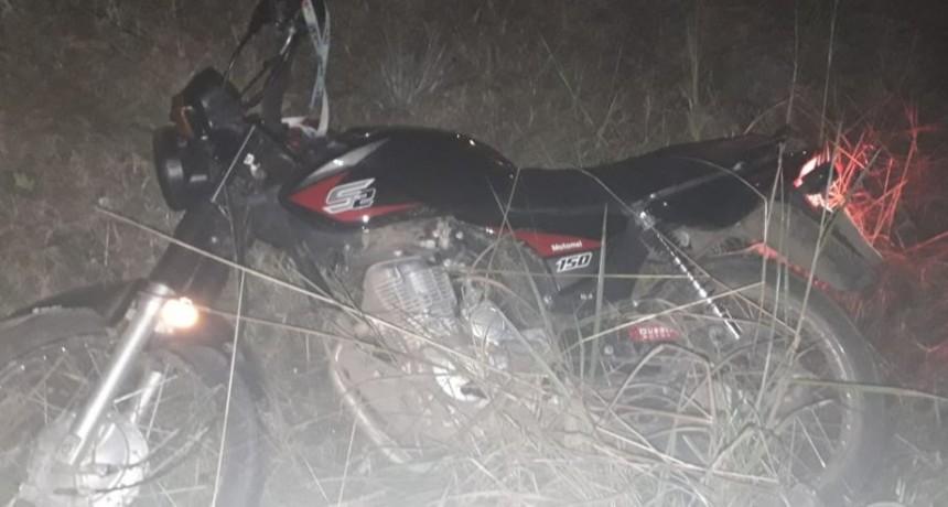 Tres motos retenidas por infracción a la Ley de Tránsito
