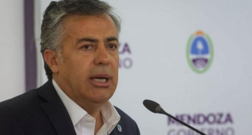 Cornejo no descarta que Macri se baje de la candidatura y acuerde con Lavagna y Schiaretti