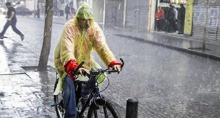 Alerta por lluvias y tormentas intensas: advierten fuerte actividad eléctrica y granizo