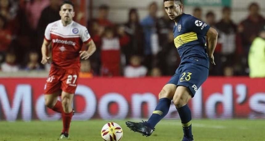 Argentinos y Boca quedaron igualados en la semifinal de ida de la Copa de la Superliga