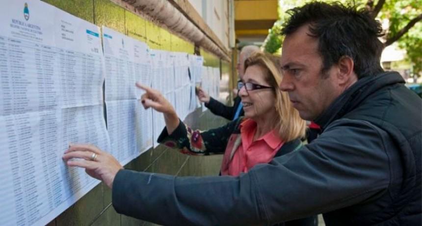 Elecciones: última semana para consultar el padrón provisorio