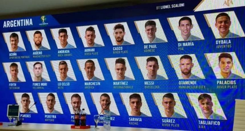 Scaloni dio la lista para la Copa América con el entrerriano Casco y el regreso de Agüero