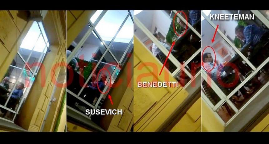 Preocupación en Cambiemos: Benedetti y Kneeteman reunidos con el cajero imputado por corrupción