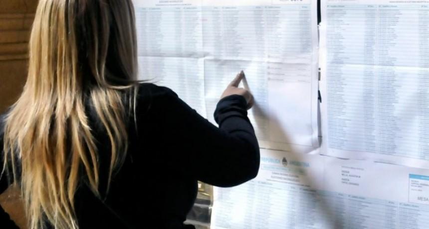 Elecciones nacionales: extendieron el plazo para consultar el padrón provisorio