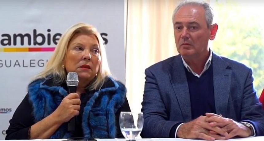 Carrió dijo que Varisco es narco y que Benedetti es Macri