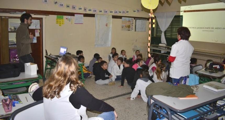 Charla con alumnos de Escuela Primaria