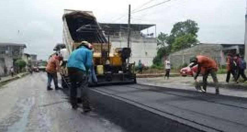 El Bloque de la U.C.R. pide informes sobre las obras de re-asfaltado