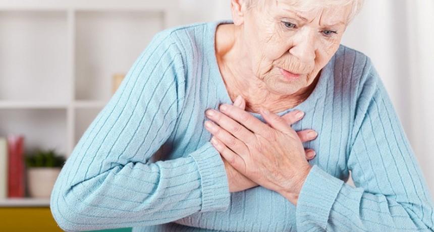 Padecer angina de pecho duplica el riesgo de sufrir infartos