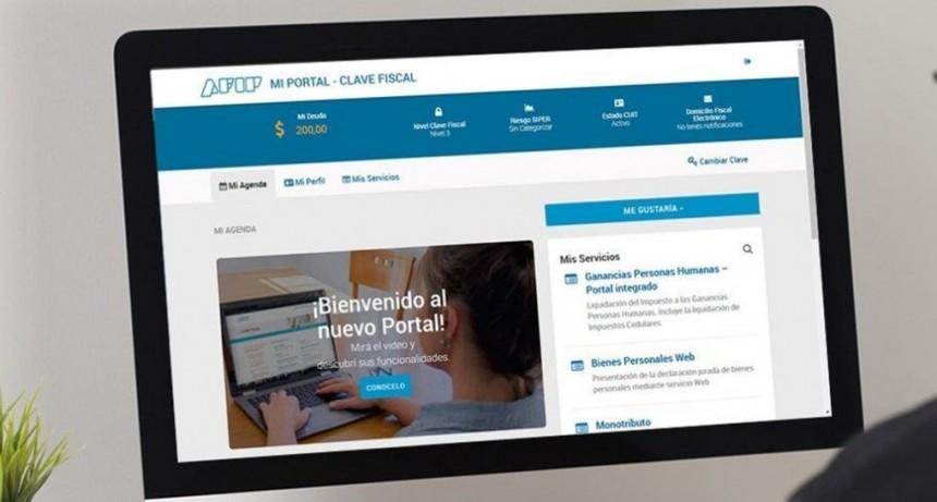 La AFIP da nuevos servicios digitales