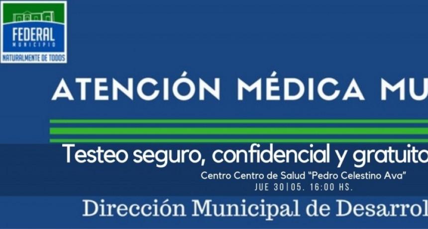 TESTEO CONFIDENCIAL DE V.I.H.