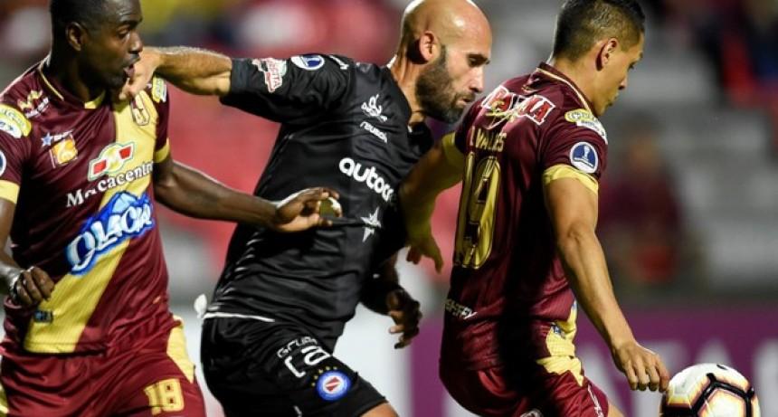 Con un empate, Argentinos clasificó a Octavos de Final de la Copa Sudamericana