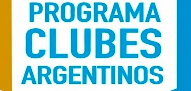 El gobierno nacional lanzó un Programa de Apoyo en la Emergencia para Clubes