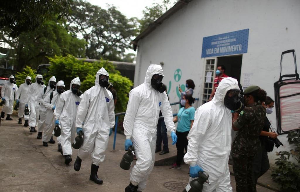 Coronavirus: Brasil registra un récord de 1179 muertos en un día