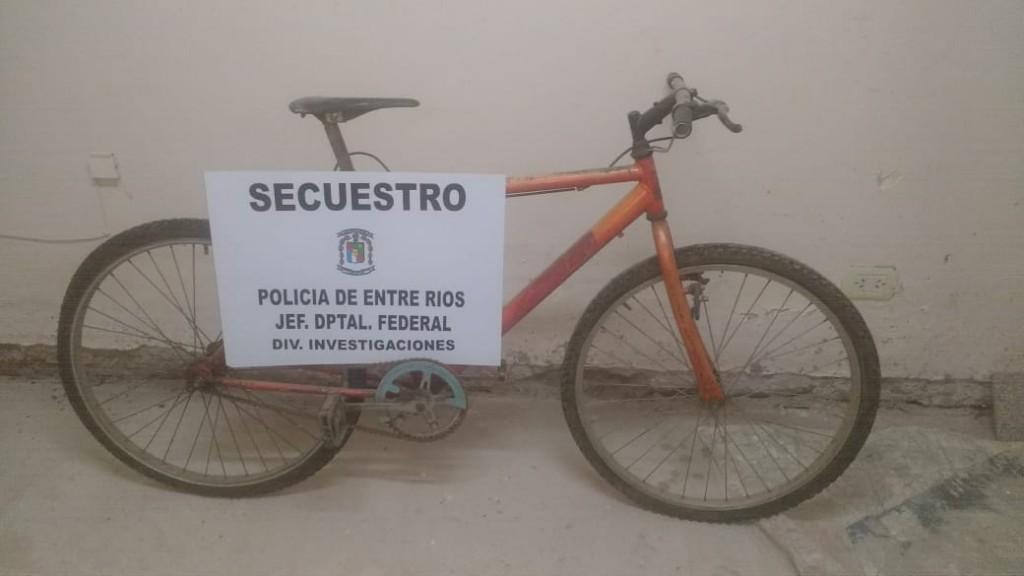 Secuestro de bicicleta