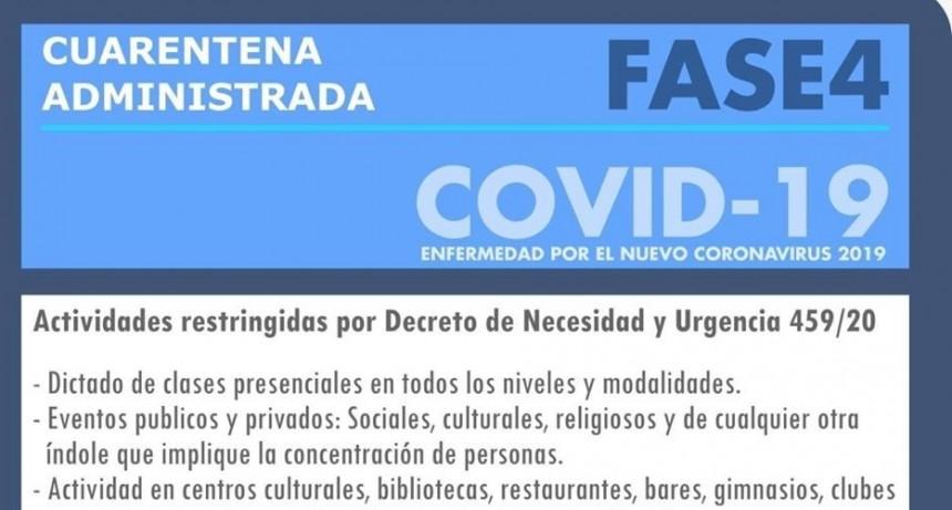 Medidas tomadas desde el Poder Ejecutivo Municipal en la nueva etapa de Cuarentana Administrada