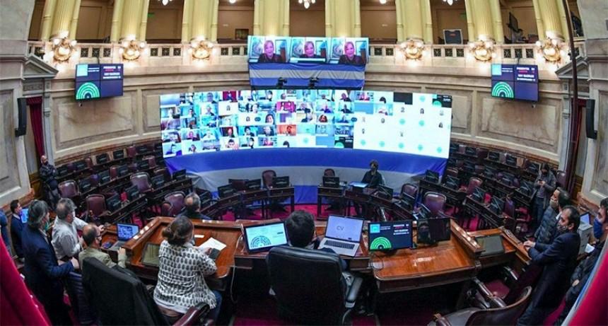 El Senado realizará este miércoles la primera sesión virtual del Congreso