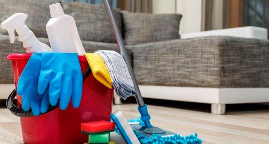 Habilitaron la actividad del personal de casas particulares en Entre Ríos
